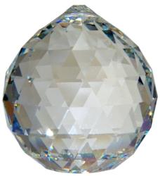 Boule de Cristal à Facettes 30mm