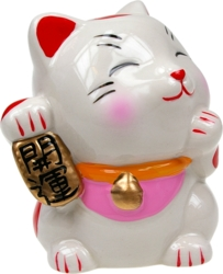 Chat Japonais Maneki Neko Tirelire - Chance