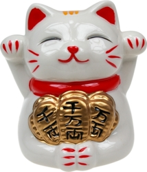 Chat Japonais Maneki Neko Tirelire - La Réussite