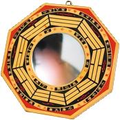 Miroir Feng Shui Pa-Kua Concave