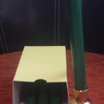 Bougie (vert pre)