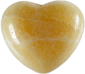 Coeur Calcite orange