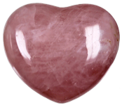 Coeur Quartz Rose