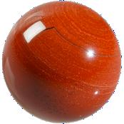 Sphère Jaspe Rouge
