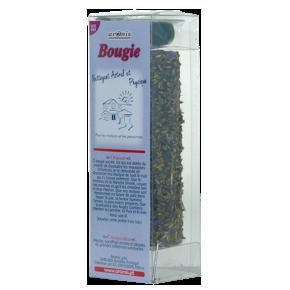 Bougie Plantes - Nettoyant astral et physique