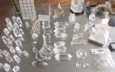 cristal de roche ou quartz