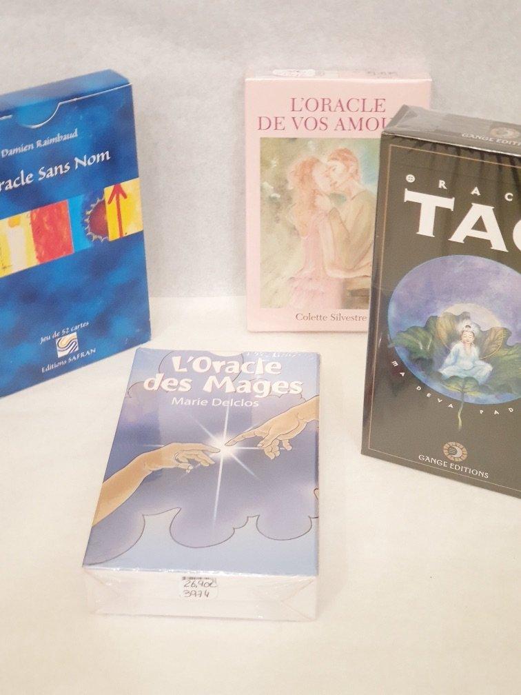 Livre Grand livre tirages tarot de Marseille