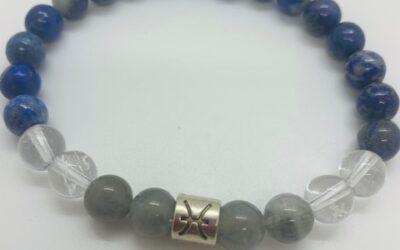 Bracelet Zodiaque Poisson Homme
