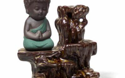 Brûle-cônes à refoulement – Petit Bouddha Bleu
